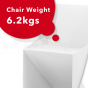 ORIGAMI SWAN CHAIR WHITE 4 PACK